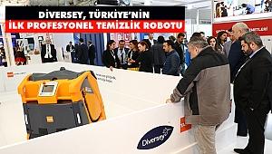 Diversey, Türkiye'nin İlk Profesyonel Temizlik Robotu