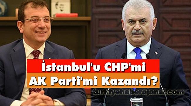 İstanbul'u CHP'mi AK Parti'mi Kazandı?