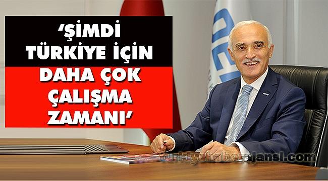 """Nail Olpak: """"Şimdi Türkiye İçin Daha Çok Çalışma Zamanı"""""""