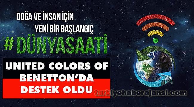 Renkli Bir Gelecek Adına Dünya Saati Etkinliği