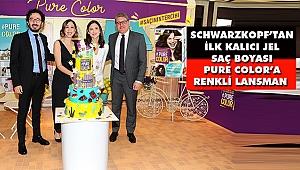 Schwarzkopf'tan İlk Kalıcı Jel Saç Boyası Pure Color'a Renkli Lansman