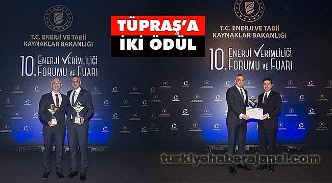 Tüpraş, Sanayide Enerji Verimliliği Yarışmasında 2 Ödül Kazandı