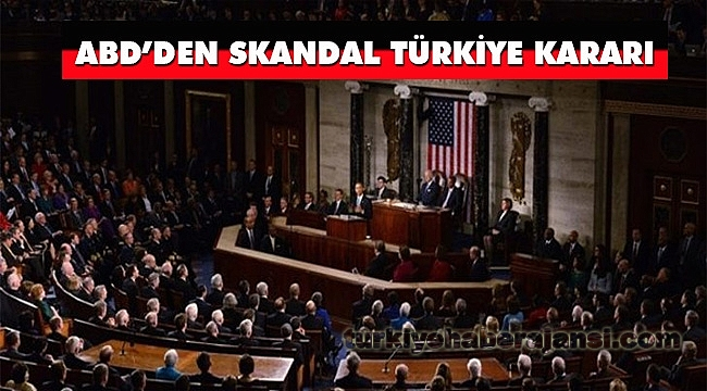 ABD'den Skandal Tasarı
