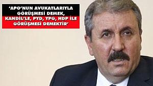 Destici'den Abdullah Öcalan Tepkisi