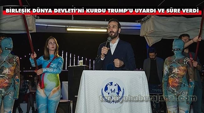 Devletini Kurdu, Trump'ı Uyardı ve Süre Verdi