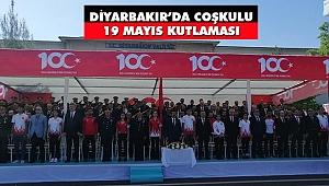 Diyarbakır'da Coşkulu 19 Mayıs Kutlaması