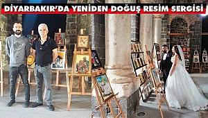 Diyarbakır Sur İçi İç Kale Müzesinde Yeniden Doğuş Resim Sergisi