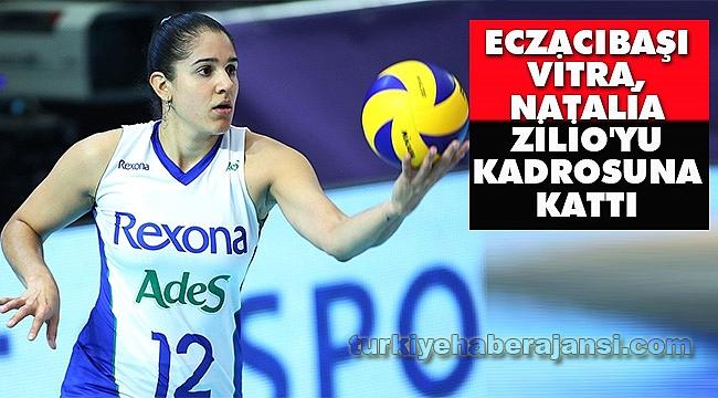 Eczacıbaşı VitrA, Natalia Zilio'yu Kadrosuna Kattı