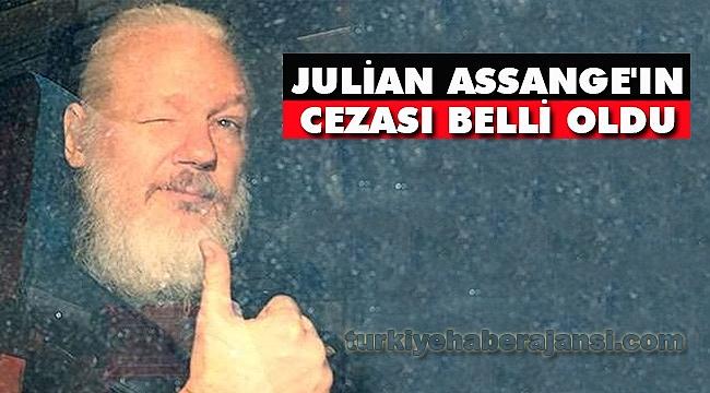 Julian Assange'ın Cezası Belli Oldu
