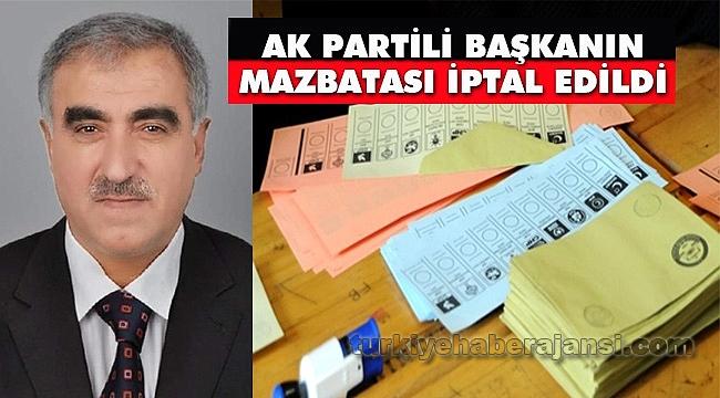 Palu Belediye Başkanı AK Partili Ünalan'ın Mazbatası İptal Edildi
