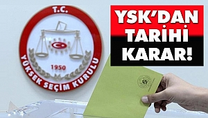 YSK İstanbul İçin Tarihi Kararını Açıkladı!