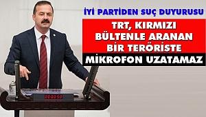 Ağıralioğlu, 'TRT, Kırmızı Bültenle Aranan Bir Teröriste Mikrofon Uzatamaz'