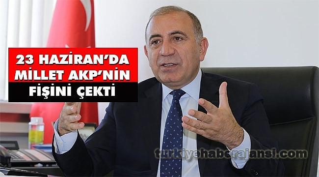 CHP'li Tekin: '23 Haziran'da millet AKP'nin Fişini Çekti'