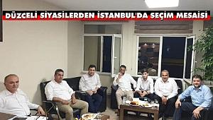 Dr. Faruk Özlü'den İstanbul'da Seçim Mesaisi