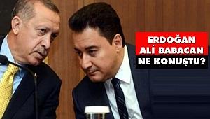 Erdoğan-Ali Babacan Görüşmesinin Detayları Ortaya Çıktı