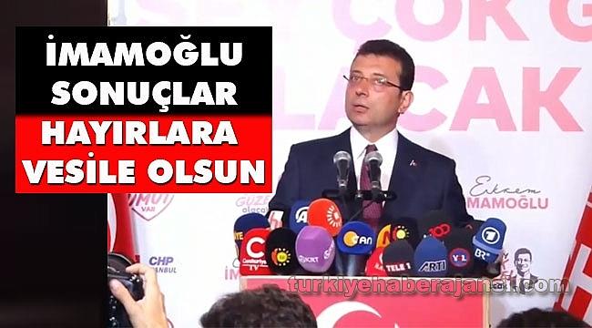 İmamoğlu'ndan İstanbul Seçim Sonuçlarıyla İlgili İlk Açıklama