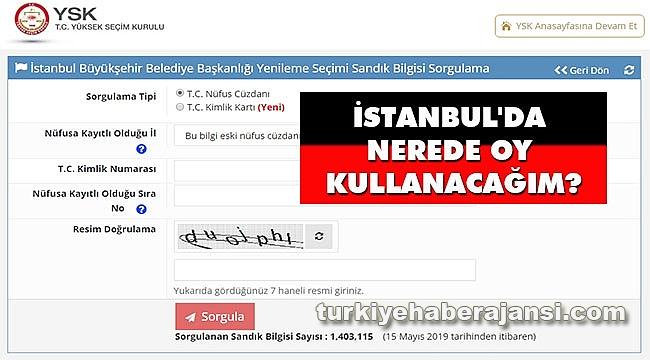 İstanbul Seçiminde Nerede Oy Kullanacağım