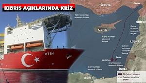 Kıbrıs Açıklarında Kriz