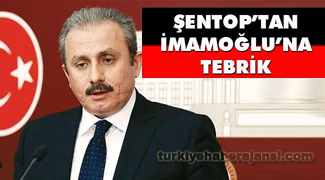 Şentop'tan Ekrem İmamoğlu'na Tebrik Telefonu