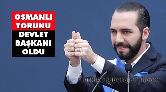Ülkenin Başına Osmanlı Torunu Nayib Bukele Geçti