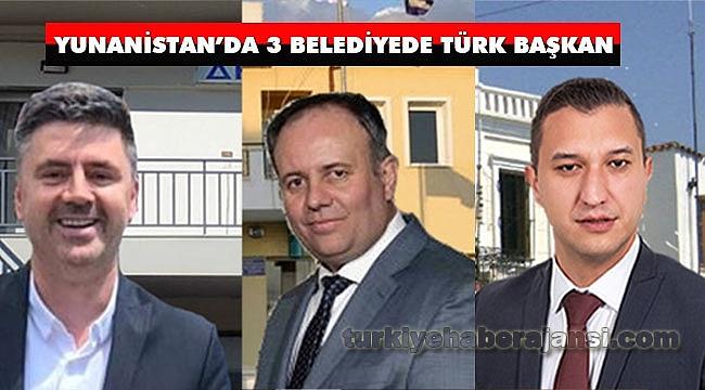 Yunanistan'da ÜçBelediyede Türk Başkan