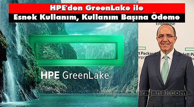 HPE GreenLake ile Esnek Kullanım, Kullanım Başına Ödeme