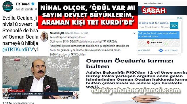 Nihal Olçok'tan 'Terörist başının kardeşini buldum!' Tweeti!
