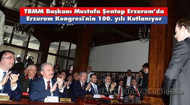 TBMM Başkanı Şentop, Erzurum'da