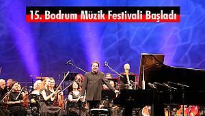 15. Bodrum Müzik Festivali Başladı