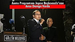 Anma Programına Japon Başkonsolu'nun Anısı Damga Vurdu