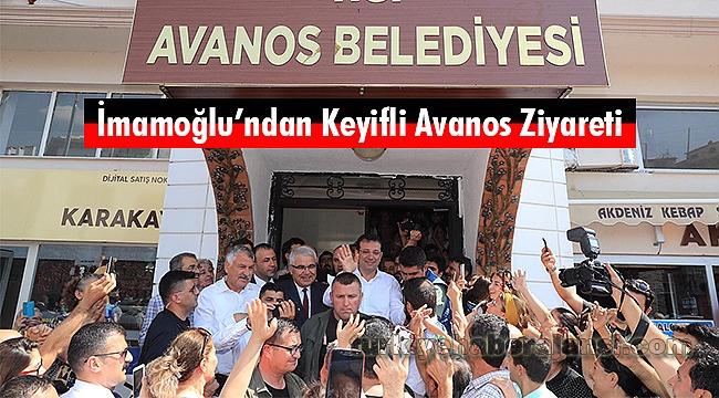 İmamoğlu'ndan Keyifli Avanos Ziyareti