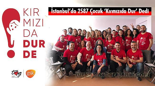 İstanbul'da 2587 Çocuk 'Kırmızıda Dur' Dedi