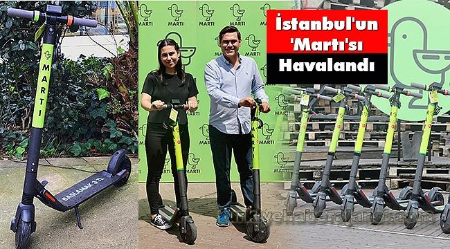 İstanbul'un 'Martı'sı Havalandı