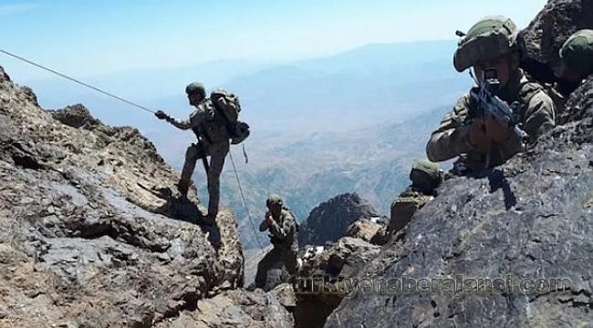 PKK'lı Teröristlerle Çatışma: 1 Şehit, 4 Yaralı