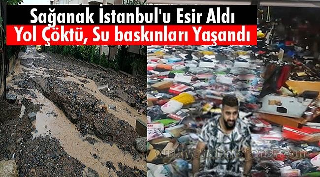 Sağanak İstanbul'u Esir Aldı