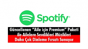 Spotify, 'Aile için Premium' Paketi