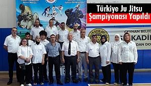 Türkiye Ju Jitsu Şampiyonası Yapıldı