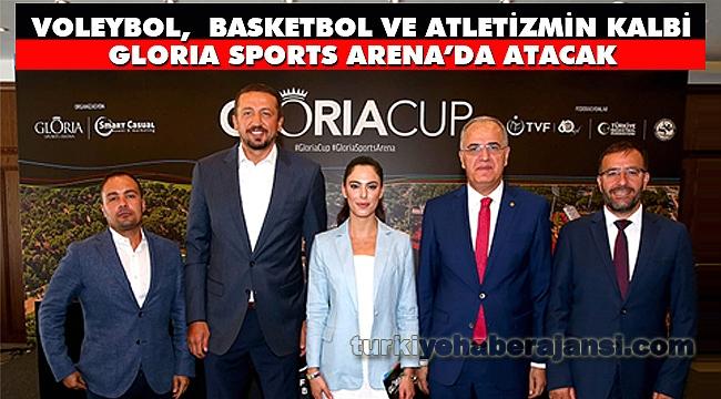Voleybol,Basketbol ve Atletizmin Kalbi Gloria Sports Arena'da Atacak