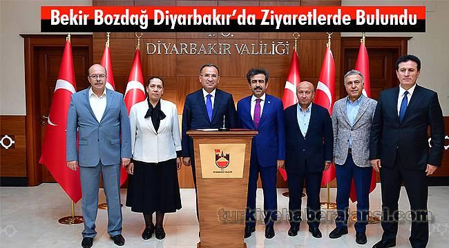 Bekir Bozdağ Diyarbakır'da Ziyaretlerde Bulundu