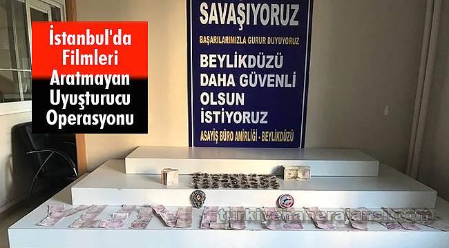İstanbul'da Filmleri Aratmayan Uyuşturucu Operasyonu