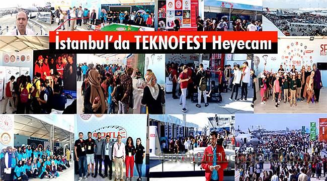 İstanbul'da TEKNOFEST Heyecanı