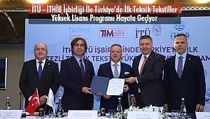 İTÜ - İTHİB İşbirliği İle Teknik Tekstiller Yüksek Lisans Programı