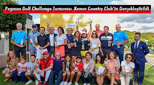 Pegasus Golf Challenge TurnuvasıKemer Country Club'ta Gerçekleştirildi