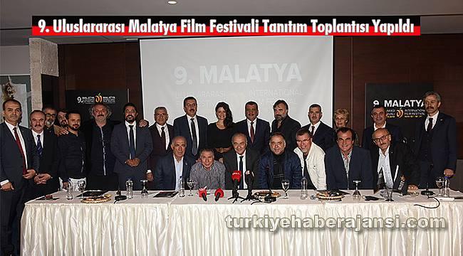 9. Uluslararası Malatya Film Festivali Tanıtım Toplantısı Yapıldı