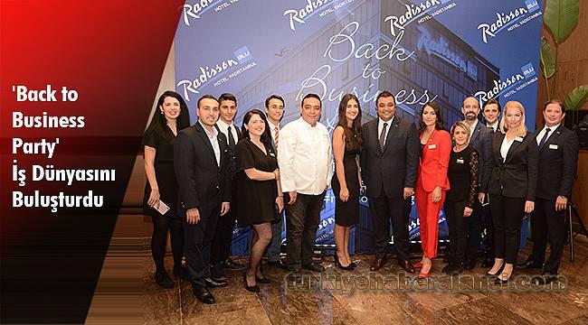 'Back to Business Party' İş Dünyasını Buluşturdu