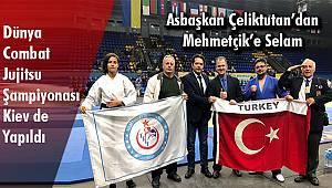 Dünya Combat Jujitsu Şampiyonası Ukrayna Kiev de yapıldı