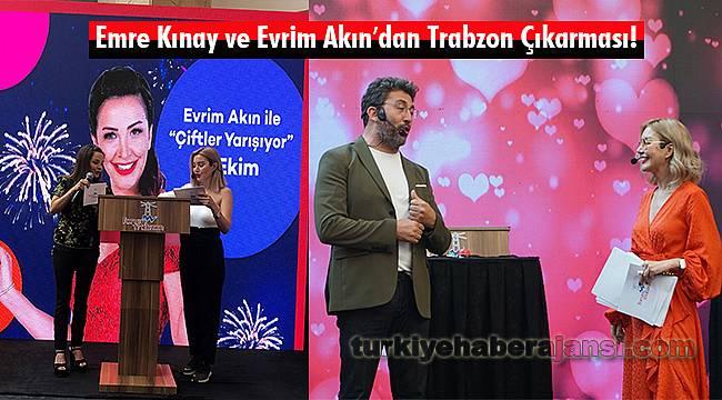 EmreKınayVe Evrim Akın′dan Trabzon Çıkarması!