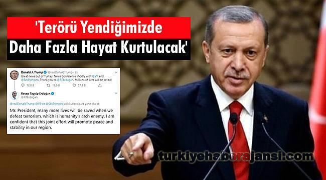 Erdoğan: 'Terörü Yendiğimizde Daha Fazla Hayat Kurtulacak'