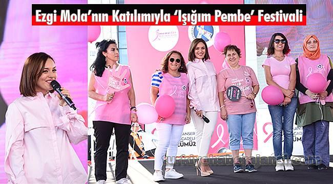 Ezgi Mola'nın Katılımıyla 'Işığım Pembe' Festivali