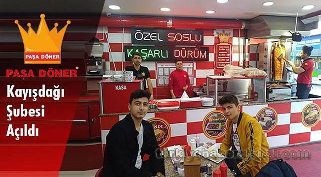 Paşa Döner Kayışdağı Şubesi Açıldı